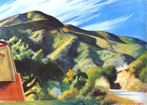 Edward Hopper - California hills