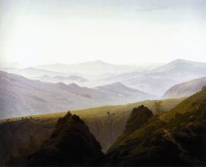 Caspar David Friedrich - in the Mountains