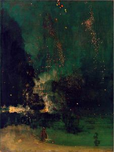 James Abbott Mcneill Whistler - Falling rocket