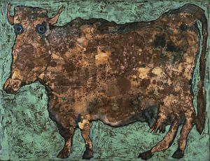 Jean Philippe Arthur Dubuffet - The Cow with the Subtile Nose