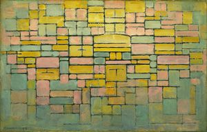 Piet Mondrian - Tableau no. 2 Composition no. V
