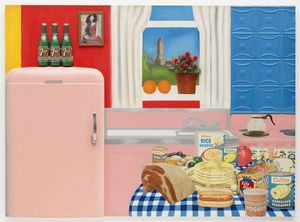Tom Wesselmann - Still life #30