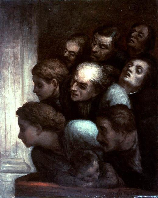 The free performance by Honoré Daumier (1808-1879, France) | WahooArt.com