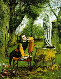 William Dyce - Titian's first painting