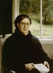 Albert Edelfelt - Mother of the Artist