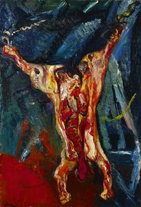 Chaim Soutine - (Carcass of beef) Minneapolis Institute of Arts