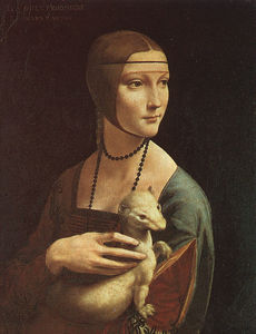 Leonardo Da Vinci - Portrait of Cecilia Gallarani (Lady with an Ermine)