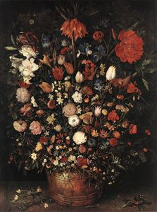 Jan Brueghel The Elder - the great bouquet