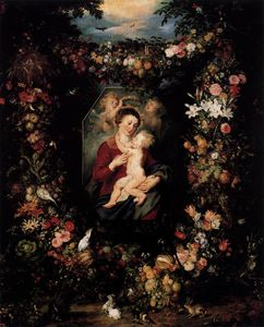 Jan Brueghel The Elder - Virgin and Child