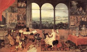 Jan Brueghel The Elder - Sense of Hearing