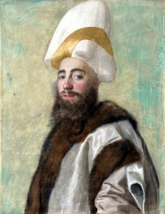 Order Famous Paintings Reproductions : Portrait of a Grand Vizir by Jean Étienne Liotard (1702-1789, Switzerland) | WahooArt.com