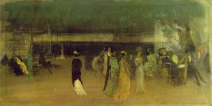 James Abbott Mcneill Whistler - Cremorne gardens