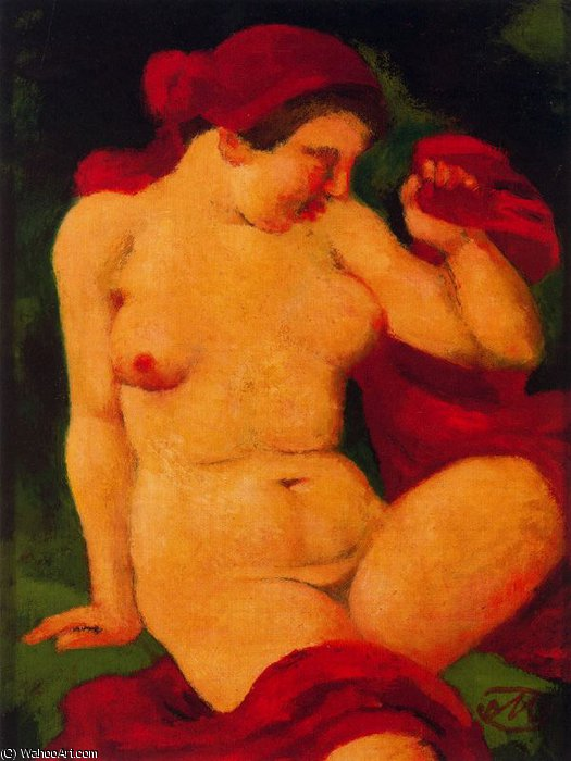 Untitled (407) by Aristide Maillol (1861-1944, France) | Museum Art Reproductions Aristide Maillol | WahooArt.com