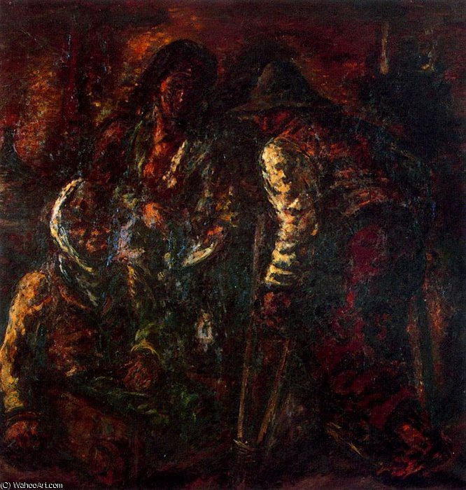 Untitled (429) by Arturo Souto (1902-1964, Spain) |  | WahooArt.com