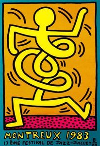 Keith Haring - Untitled (163)