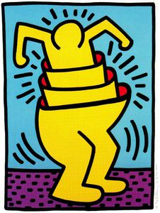 Keith Haring - Untitled (176)