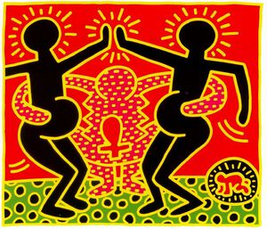Keith Haring - Untitled (748)