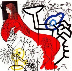 Keith Haring - Untitled (533)
