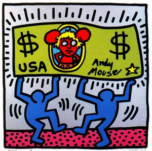 Keith Haring - Untitled (102)