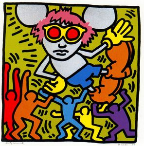 Keith Haring - Untitled (731)