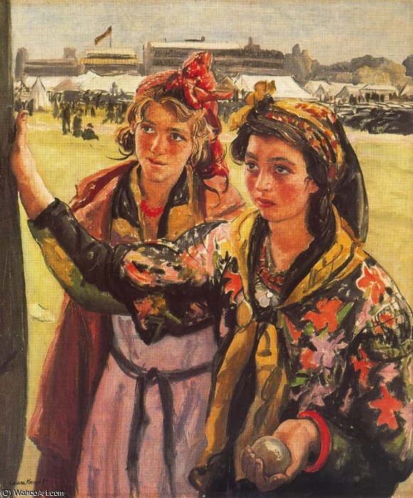 Untitled (639) by Dame Laura Knight (1877-1970, United Kingdom) |  | WahooArt.com