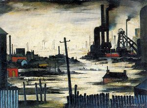 Lawrence Stephen Lowry - Untitled (825)