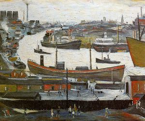 Lawrence Stephen Lowry - Untitled (778)