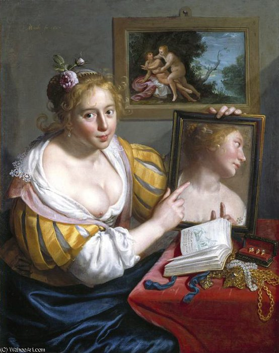 Untitled (857) by Paulus Moreelse (1571-1638, Netherlands) | Oil Painting | WahooArt.com