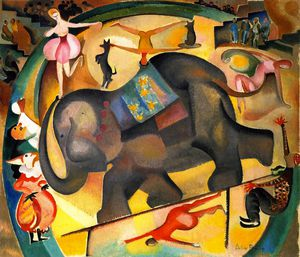 Alice Bailly - The elephant