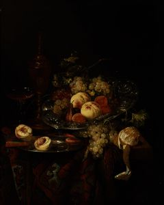 Abraham Hendriksz Van Beijeren - Still Life with Fruit