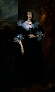 Anthony Van Dyck - Katherine manners