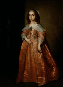 Anthony Van Dyck - Mary, Princess of Orange