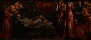 Dante Gabriel Rossetti - -s Dream on the Day of the Death of Beatrice
