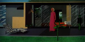David Hockney - Beverly hills housew