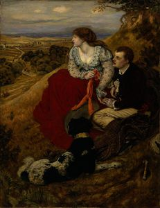 Ford Madox Brown - Byron-s dream