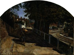Ford Madox Brown - Heath street, hampstead