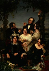 Ford Madox Brown - The bromley family