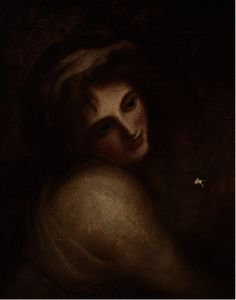 George Romney - Portrait of emma