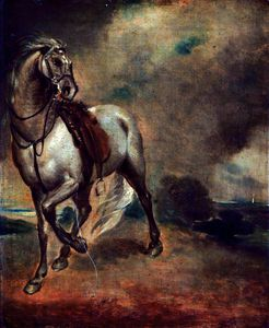 George Romney - Study of a Horse