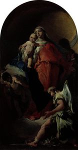 Giovanni Battista Tiepolo - Virgin and Child with an Angel