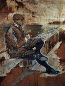Henri De Toulouse Lautrec - Picture of Louis Bouglé