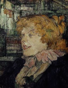 Henri De Toulouse Lautrec - The Inglesita of the Star in the Havre