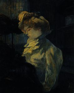 Henri De Toulouse Lautrec - The seamstress