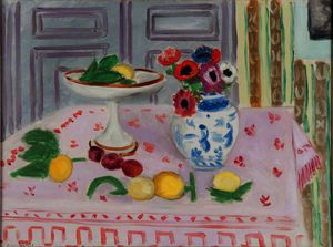 Henri Matisse - The pink tablecloth