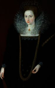 Marcus The Younger Gheeraerts - A Lady in Black