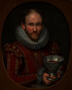 Marcus The Younger Gheeraerts - Tom Derry, Jester to Anne of Denmark
