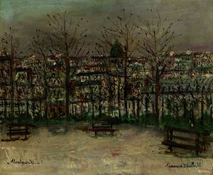 Maurice Utrillo - For montmartre