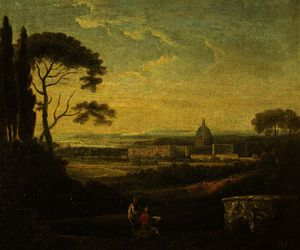 Richard Wilson - A Distant View of St Peter's, Rome