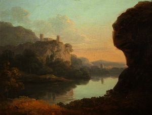 Richard Wilson - Castle near Lake