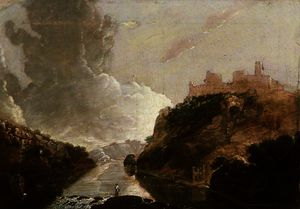Richard Wilson - Kilgerran castle